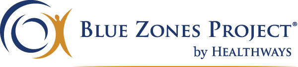 Logo for Blue Zones Project