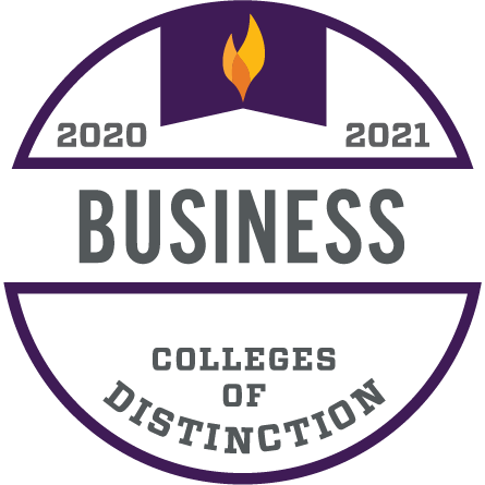 College of Distinction in Business (2020-2021)