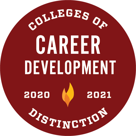 College of Distinction in Career Development (2020-2021)
