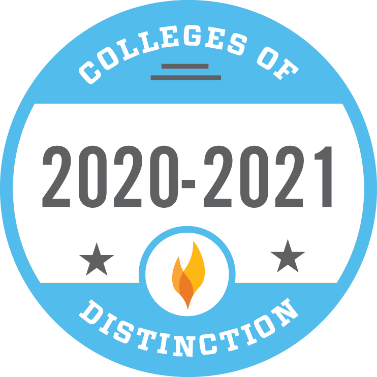 OBU is a College of Distinction (2020-2021)