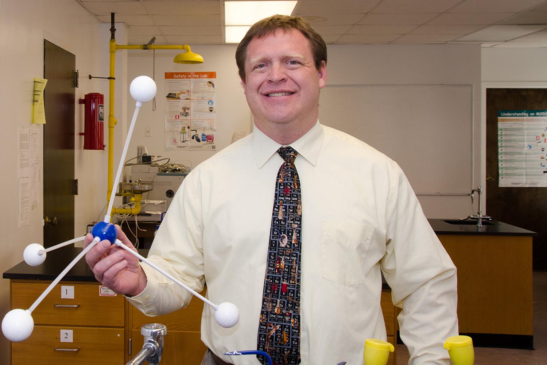 OBU Wel es Jones as Dean of the Hurley College of Science and