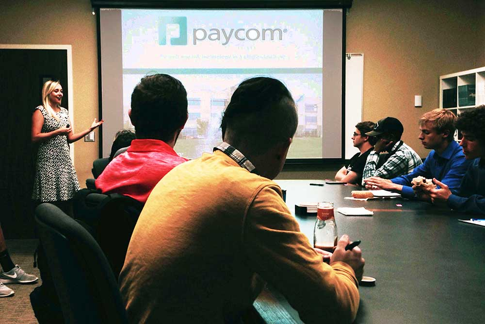 Computer Science Majors Get Up Close Look at Paycom Careers