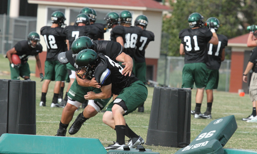 First Bison Football Intrasquad Set for Saturday ...