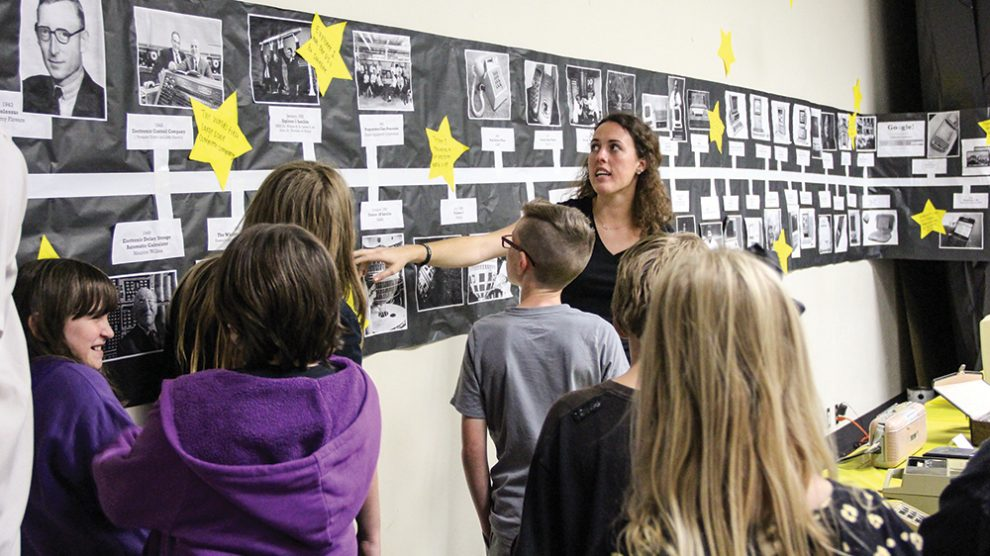 Education Majors Give Local Students Historical Look at the 1960s