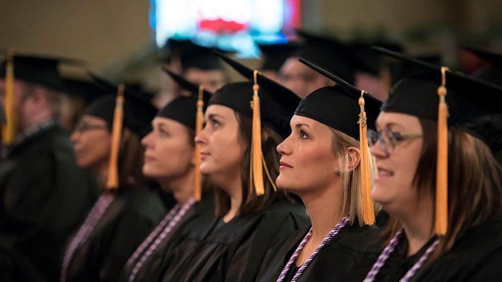 OBU graduates at commencement
